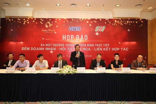 Mạng lưới nữ lãnh đạo Happy Women Leader Network  tổ chức họp báo cùng CMB và Đài VTC - 1