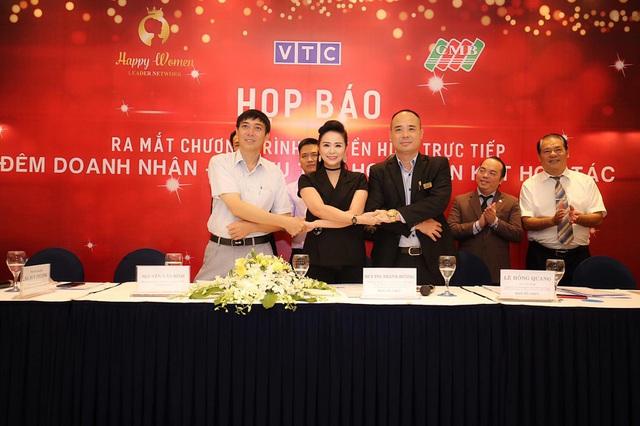 Mạng lưới nữ lãnh đạo Happy Women Leader Network  tổ chức họp báo cùng CMB và Đài VTC - 2