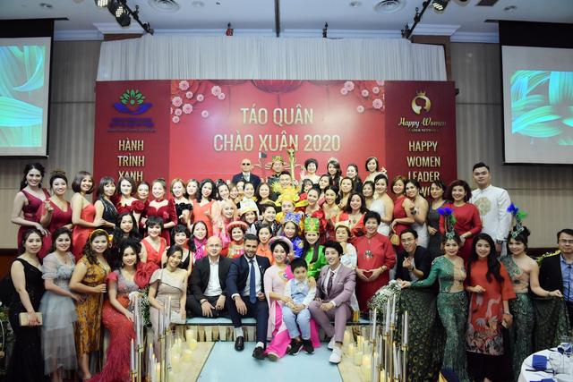 Happy Women Leader Network và Quỹ từ thiện Hành trình xanh hội tụ trong chương trình Táo quân - Chào xuân 2020 - 1