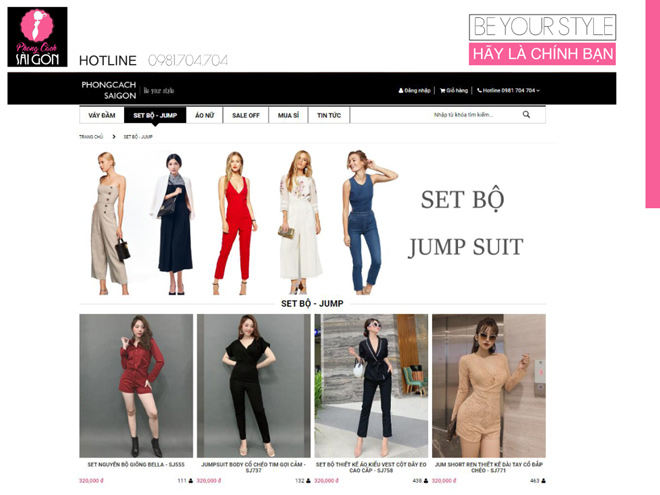 Phong cách Sài Gòn – địa điểm mua sắm trực tuyến đáng tin cậy! - 1