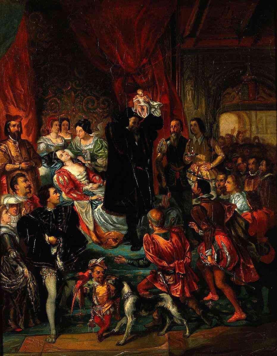 Vì sao hoàng hậu một số nước châu Âu trước đây phải sinh con trước đám đông? - 3